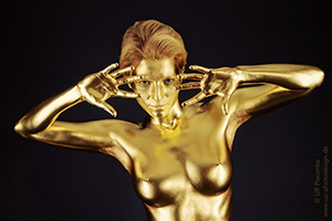 Goldfinger - Bodypainting Gold