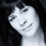Schwarz-weiß-Portrait im Studio