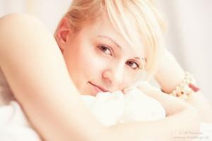 Portrait von K. - Boudoirfotografie