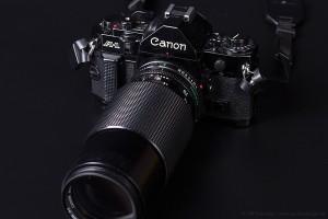 Canon A-1 mit FD 70-210mm