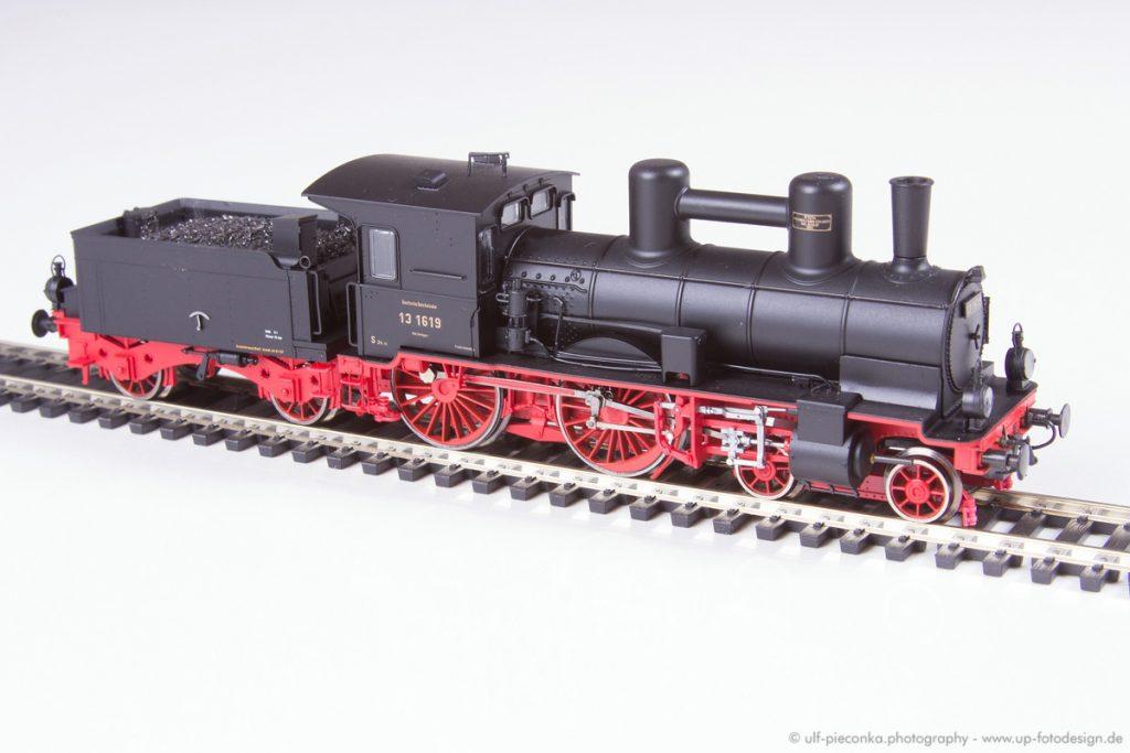 Dampflok BRAWA 13 1619 - Modelleisenbahn - Produktfoto