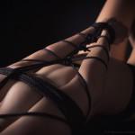 Bondage - Black rope - Fetischfotografie von Fotograf Ulf Pieconka - Würzburg