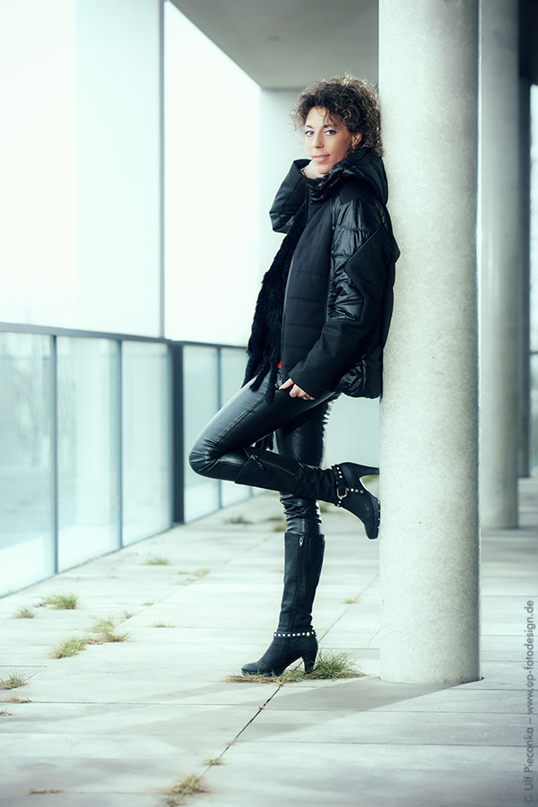 Model: Sandy - Outdoor Fotoshooting - Portrait