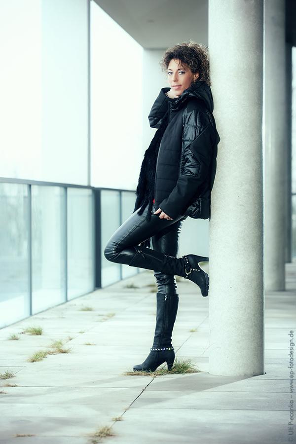 Model: Sandy - Outdoor Fotoshooting - Portrait