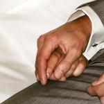 Braut und Bräutigam - Hände