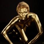 Goldfinger - Bodypainting Gold - Würzburg