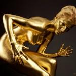 Model - Bodypainting - gold