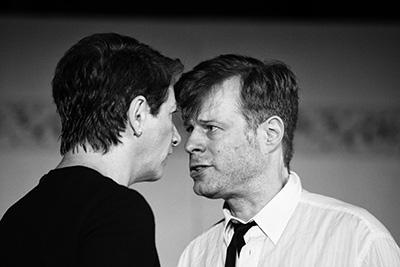 Theater und Schauspieler - Das Urteil - Vorstellung im Efeuhof Würzburg