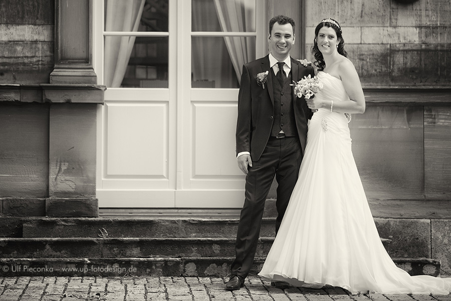 Hochzeitspaar bei Würzburg