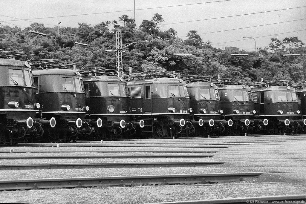 E 18 Lokparade in Würzburg 20. Juli 1984