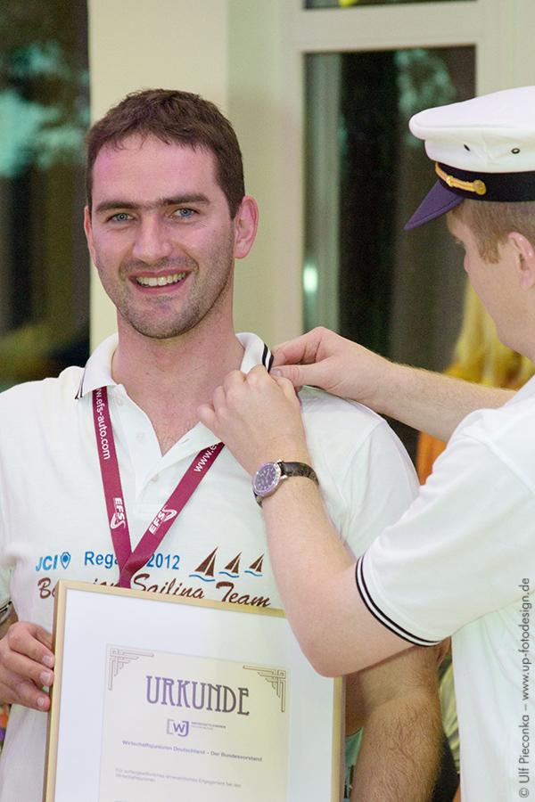 Goldene Ehrennadel für Armin Müller auf der LAKO 2013