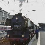 Dampflok in Aschaffenburg HBF
