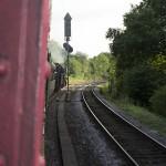 Unterwegs im Dampfzug