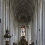 Münster in Ingolstadt -gothischer Innenraum