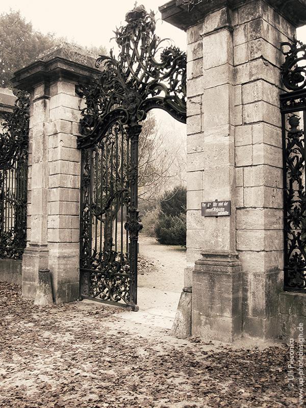 Eingang - Hofgarten - Residenz Würzburg