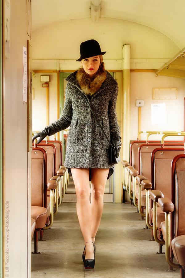 Eisenbahn und Models in Würzburg - Fotograf Ulf Pieconka