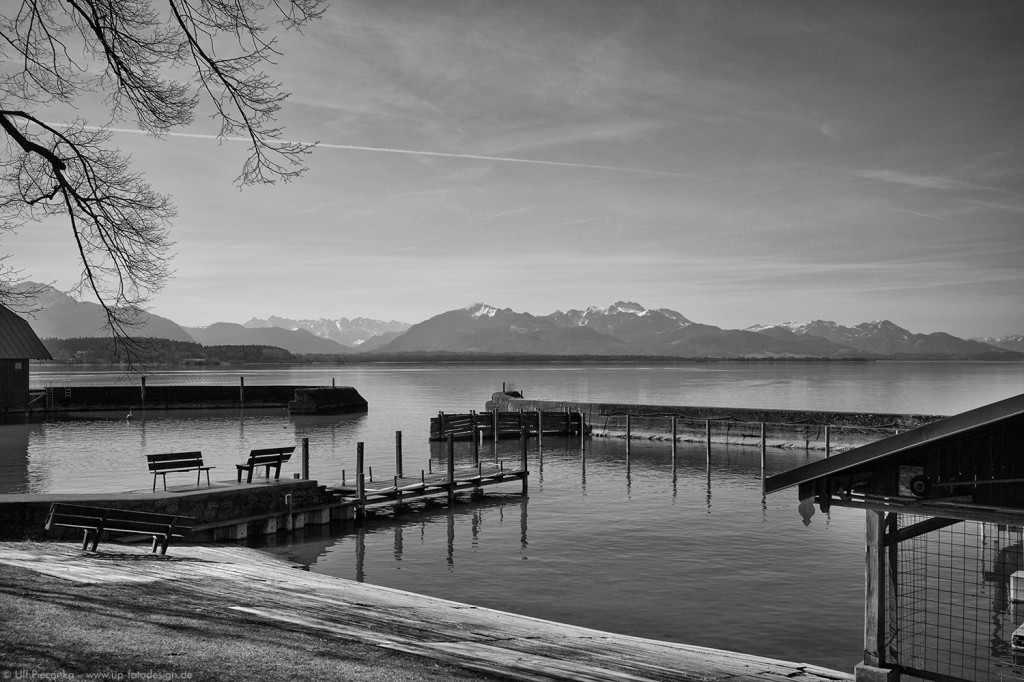 Chiemsee bei Chieming HDR