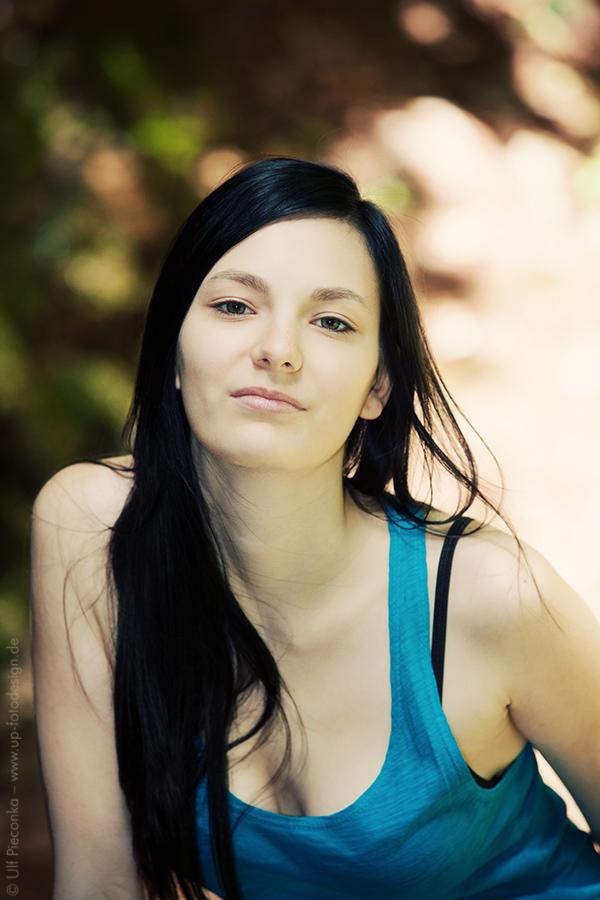 Fotoshooting mit Model Sabrina