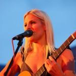 Coby Grant in Rimpar -beginning of her concert - Fotograf Ulf Pieconka
