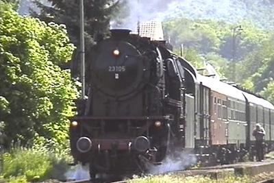 Dampflok 23 105