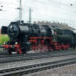 Dampflok in Würzburg