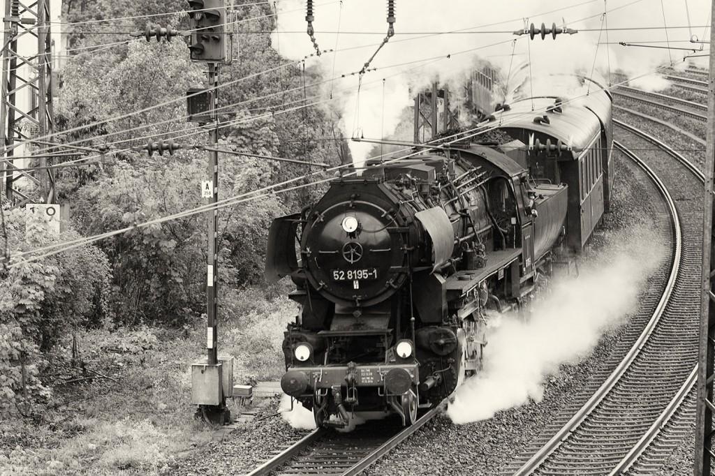 Dampflok 52 8195 in Würzburg