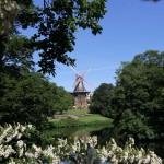 Mühle in den Wallanlagen in Bremen