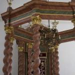 Die Synagoge in Ansbach