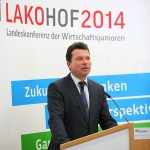 Dr. Harald Fichtner auf der LAKO in Hof