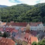 Tschechien - Loket von der Burg aus