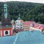 Tschechien - Loket von oben