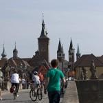 Strassenmusikfest 2011 Wuerzburg - Alte Mainbrücke und Stadt