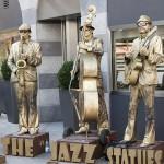 Strassenmusikfest 2011 Wuerzburg - The Jazz Statues (Polen)