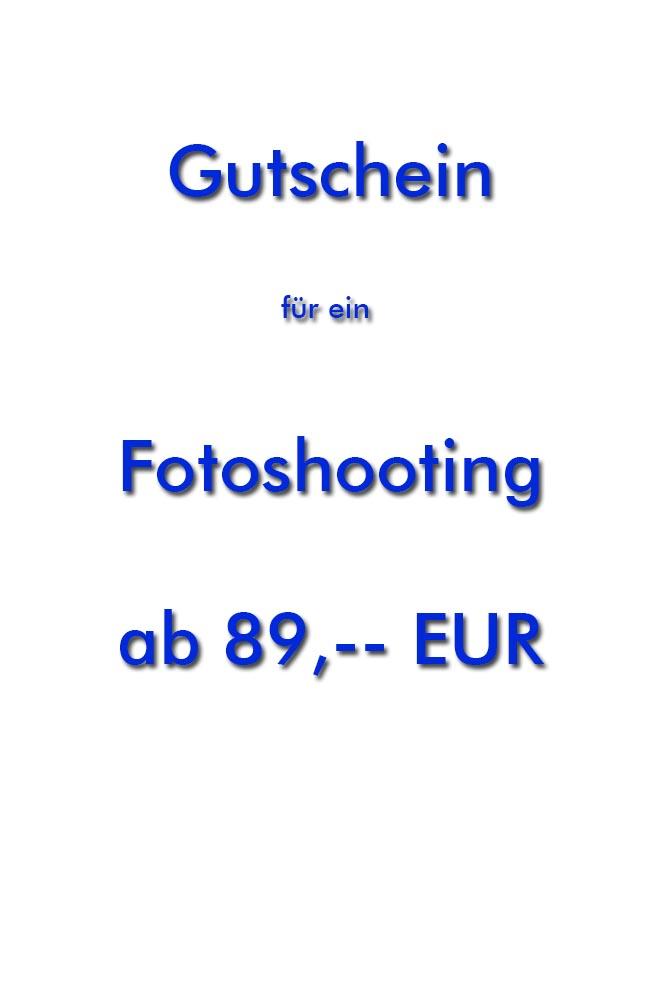 Gutschein für Fotoshooting - Geschenkgutschein
