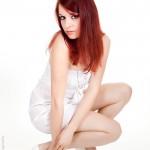 Model Rina Racina - Fotoshooting bei Fotograf Ulf Pieconka im Studio