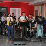Live-Band am Willkommensabend