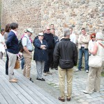 An der Stadtmauer in Weiden ...