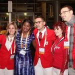 Weltkongress JCI 2014 - Leipzig - Delegation aus Monaco