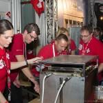 Die Schweizer arbeiten im Akkord ... JCI World Congress in Leipzig