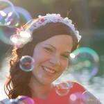 Die Braut - JGA in Würzburg - Fotoshooting bei Junggesellinnenabschied