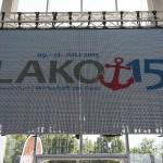 LAKO 2015 LED-Tafel