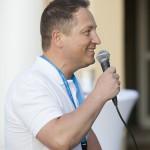 Willkommen in Schweinfurt - Konferenzdirektor Christian Störcher