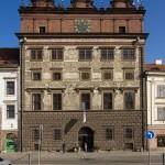 Renaissance-Rathaus in Pilsen - Fotograf Ulf Pieconka - Würzburg