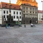 Pestsäule und altes Rathaus - Pilsen
