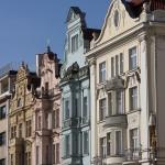 Häuser am Platz der Republik - Pilsen - CZEKO 2015