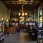 Städtisches Kulturhaus Mestanska Beseda in Pilsen - ein Café