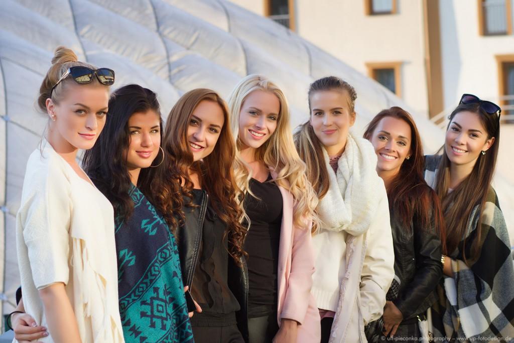 Miss Tschechien Slowenien 2015 - 7 der Finalistinnen - Fotograf Ulf Pieconka
