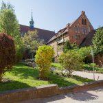 Innenhof der Nikolaikirche Wismar