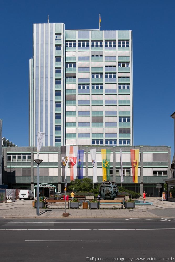 Neues Rathaus Bayreuth - Fotograf Ulf Pieconka - Würzburg
