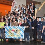 Bayerische Delegierte auf der Delegiertenversammlung der WJ Deutschland 2017 in Schweinfurt